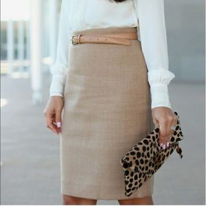 J.CREW | Wool Blend The Pencil Skirt!